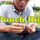 """パンチングリグのセット方法 """"the most efficient way to set punching rig"""""""