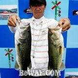 琵琶湖バスフィッシングガイドリポート ~上杉様~ 49cm