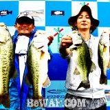 琵琶湖バスフィッシングガイドリポート ~清水様 DAY 2~ 40cm