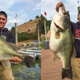 7530gのデカバス釣れる!! (米カリフォルニア)