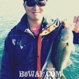 琵琶湖バスフィッシングガイドリポート ~庄田様~ 38cm