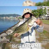 お客様からの釣果:川様~ 琵琶湖オカッパリで50アップ!!