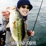 琵琶湖へ (12月10日) GSブレードンで43cm