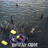 琵琶湖へ (3月11日) おかっぱり新規開拓