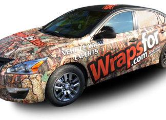 ラッピングカー(wrapsforless)