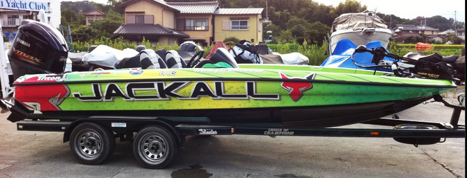 jackall boat wrapping-2
