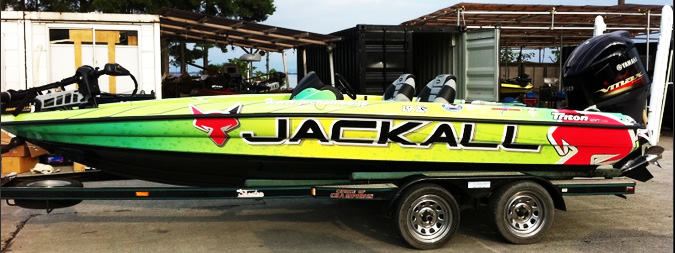 jackall boat wrapping-3