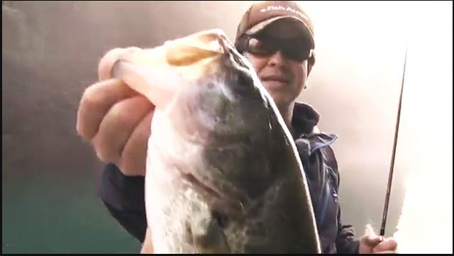 和歌山県・合川ダムでミドスト実釣動画(松本猛司) 2