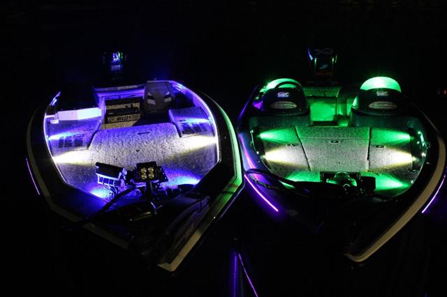 bassboat led