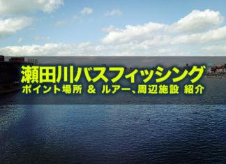 瀬田川バスフィッシング(ポイント場所紹介)PT.1
