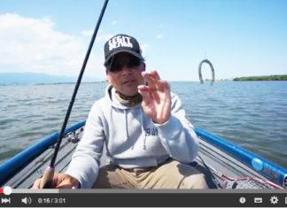 5-6月に琵琶湖で有効なタックルと釣り方~ダウンショット編~ (平村尚也)