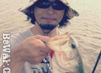 琵琶湖バスフィッシングガイドリポート ~川様~