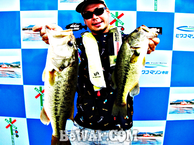 biwako bass turino blog map chouka 19