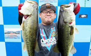 琵琶湖バスフィッシングガイドリポート ~森様~ 50cm x 56cm 34