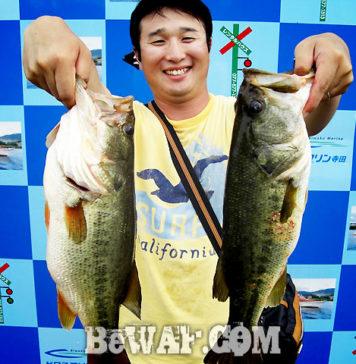 琵琶湖バスフィッシングガイドリポート ~庄田様~ 49cm 31