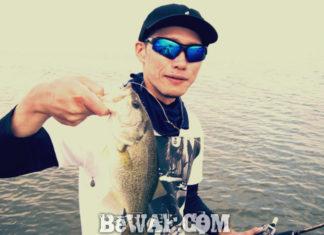 琵琶湖バスフィッシングガイドリポート ~里様~ 35cm