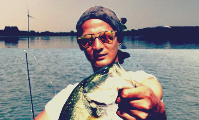 琵琶湖バスフィッシングガイドリポート ~清水様~ 38cm 16