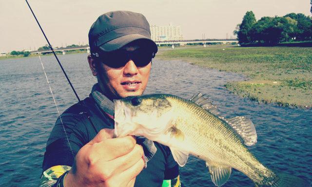 琵琶湖バスフィッシングガイドリポート ~立岡様~ 35cm 14