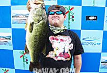 琵琶湖バスフィッシングガイドリポート ~加納様~ 55cm 30