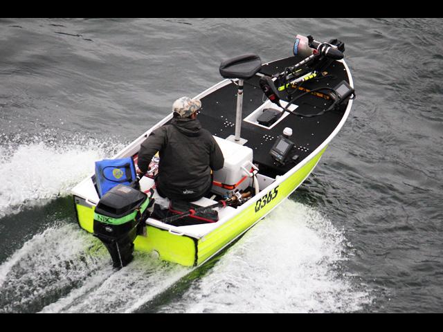 bass fishing alumi boat kaizou chuuko26