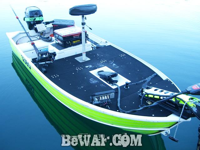 bass fishing alumi boat kaizou chuuko9