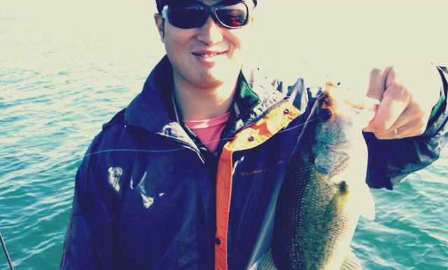 琵琶湖バスフィッシングガイドリポート ~庄田様~ 38cm 10