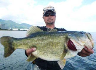 ボカ〜ン!! スイムジグで60cm!! (琵琶湖南湖)