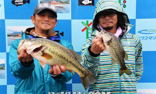 琵琶湖バスフィッシングガイドリポート ~川様~ 35cm 20
