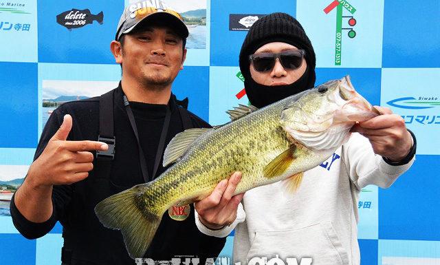 琵琶湖バスフィッシングガイドリポート ~里様~ 52cm 21
