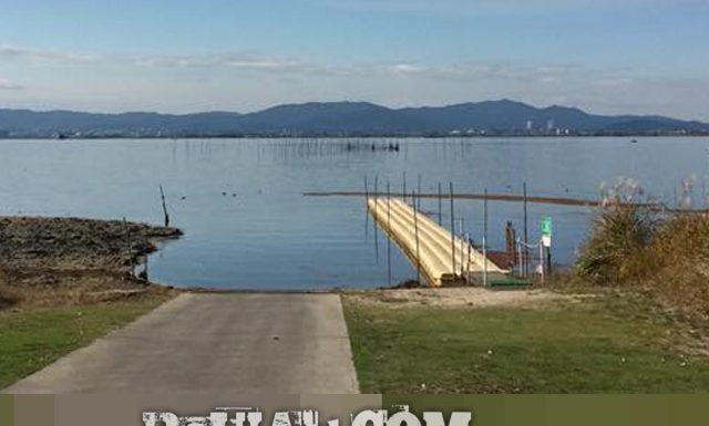 今日の琵琶湖 (by ビワエフ) 11月12日 1