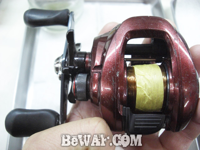 bass turi reel overhaul 11