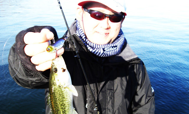 琵琶湖バスフィッシングガイドリポート ~加納様~ 23cm 10