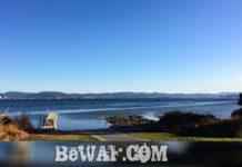 今日の琵琶湖 (by ビワエフ) 12月9日 1