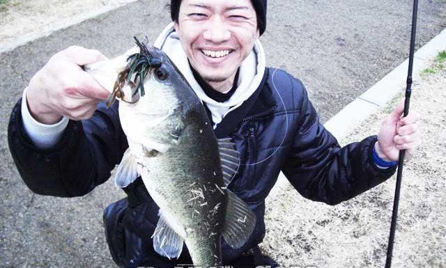瀬田川へ (2016年 2月14日) &ジグで40UP!! 8