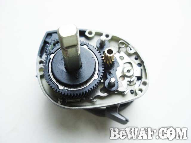 PX68 lowgear kaizou daiwa reel overhaul-4