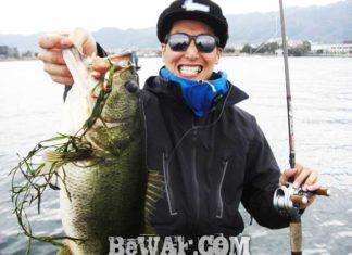 琵琶湖バスフィッシングガイドリポート ~竹中様~ 55cm