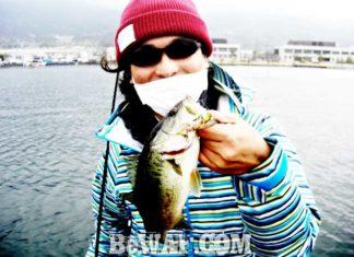 琵琶湖バスフィッシングガイドリポート ~川様~ 35cm