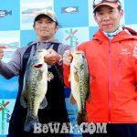 琵琶湖バスフィッシングガイドリポート~今野様~ 42cm 19