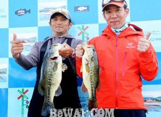 琵琶湖バスフィッシングガイドリポート~今野様~ 42cm