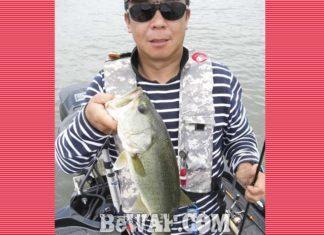 琵琶湖バスフィッシングガイドリポート~松本様~ 45cm