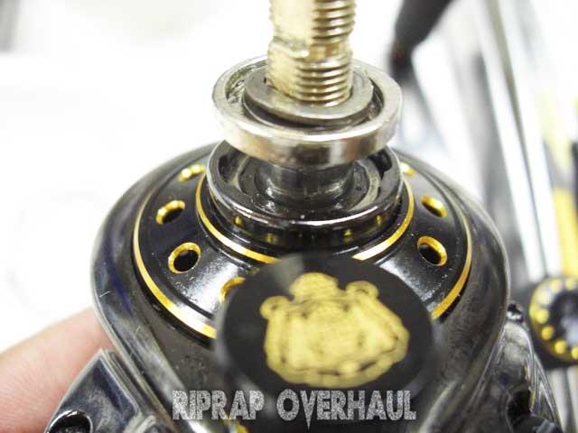 2.abu revo black 9 overhaul