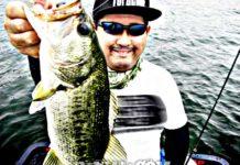 琵琶湖バスフィッシングガイドリポート~加納様~ 42cm 19
