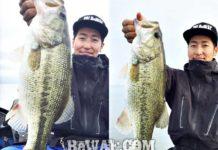 お客様からの釣果:竹中様~ 琵琶湖で50up x 2本!! 2