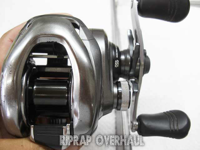 shimano 15 metanium dc overhaul 1