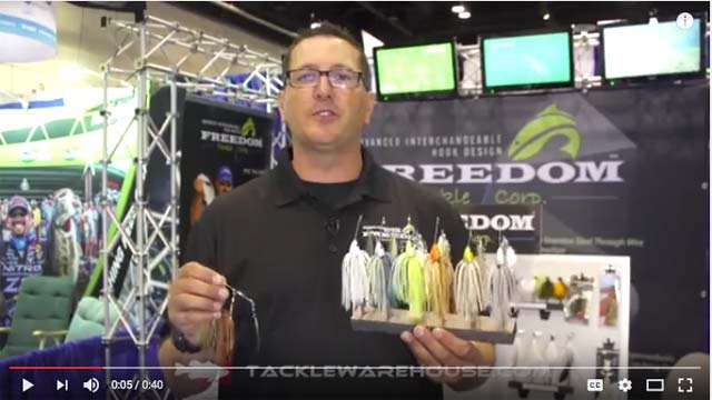 Freedom Tackle Double Willow Spinnerbait 3