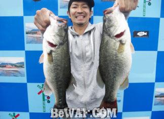 琵琶湖バスフィッシングガイドリポート ~Y様~ 45cm