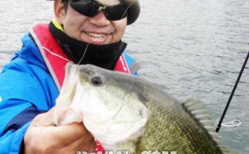 琵琶湖バスフィッシングガイドリポート ~加藤様~ 42cm 13