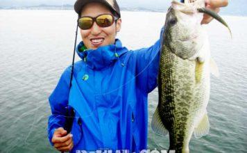 琵琶湖バスフィッシングガイドリポート ~竹中様~ 44cm 10