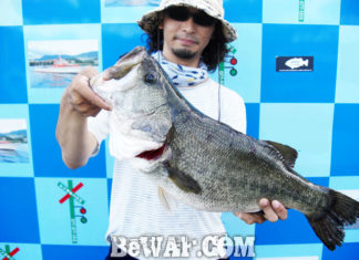 琵琶湖バスフィッシングガイドリポート ~川様~ 57cm