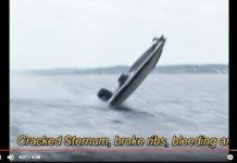 バスボート事故 ~波に乗り上げ転覆~ 2